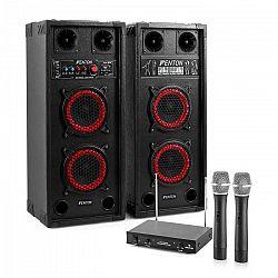 Electronic-Star Karaoké set STAR-Wedding, reproduktory, 2 mikrofóny, 600 W