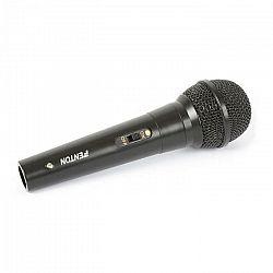 Fenton DM100, dynamický mikrofón, jednosmerný, 3-metrový kábel, čierny