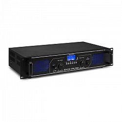 Fenton FPL700, digitálny zosilňovač, 2 x 350 W, BT, prehrávač médií, USB port, SD slot