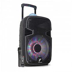 "Fenton FT12JB, aktívny reproduktor, 12"", 700 W, BT/USB/SD/MP3/AUX-In, LED, jellyball, akumulátor"