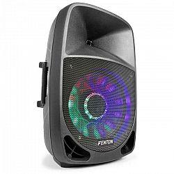 "Fenton FT1500A aktívny reproduktor 350W 15"" MP3 bluetooth USB SD AUX LED LCD"