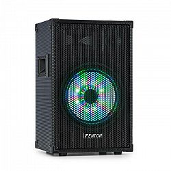 "Fenton TL10LED, 3-cestný pasívny reproduktor, RGB LED, 10"" woofer 500W, stredový horn, tweeter"