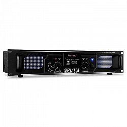 HiFi PA zosilňovač Skytec SPL-1500, 4200 W, USB, SD, MP3