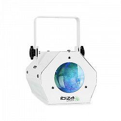 Ibiza LCM003, LED efekt Moonflower RGBWA, riadenie hudbou