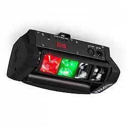 Ibiza LED8-Mini Mini-Spider LED svetelný efekt DMX vrátane montážneho ramena