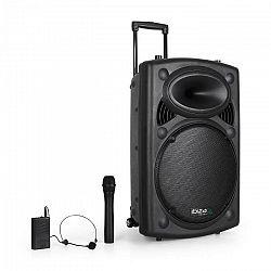 """Ibiza Port15VHF-BT 38 cm (15""""), PA sys.sUSB, SD, AUX, MP3,"""