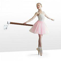 KLARFIT Barre Mur, baletná tyč, 100 cm, žrď 38 mm Ø, nástenná montáž, biela