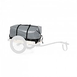 KLARFIT Companion, Travel Bag, prenosná taška, 120litrov, vodeodolná, roll-top, sivá