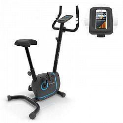 KLARFIT Myon Cycle, domáci trenažér, 12 kg zotrvačná hmotnosť, SmartCardio Studio, čierny