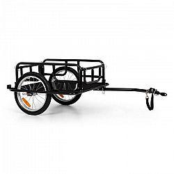 """KLARFIT OX, nákladný príves, 40 kg/65 l, príves za bicykel, 16"""" x 1,75"""" pneumatiky, čierny"""