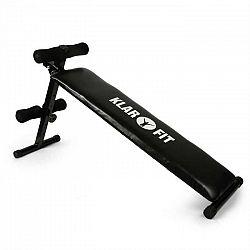 KLARFIT Posilňovacia lavica, ľah-sed, domáci tréner, <160 kg