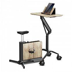 KLARFIT Roomik Move, tréningový bicykel, breza, 8 kg zotrvačník, 8 úrovní magnetového odporu