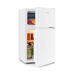 Klarstein Big Daddy Cool, chladnička s mrazničkou, 61/22 litrov, 42 dB, A+, biela