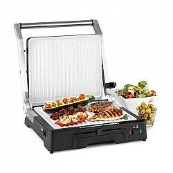 Klarstein Burgermeister 3 v 1, kontaktný gril, stolný gril, panini gril, 2000 W