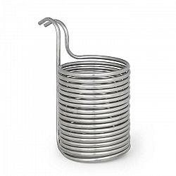 Klarstein Chiller 12, ponorný chladič, sladový chladič, Ø 21.5 cm, 18 závitov špirály, nerezová oceľ 304