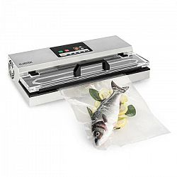 Klarstein FoodLocker 650, vákuovač, 650 W, InstantSealing, ušľachtilá oceľ, strieborná