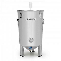 Klarstein Gärkeller, fermentačný kotol, 30 l, kvasné rúrky, teplomer, 304-ušľachtilá oceľ