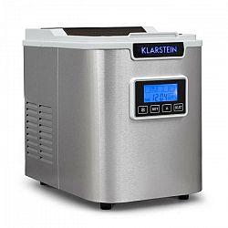 Klarstein ICE6 Icemeister, zariadenie na prípravu kociek ľadu, 12 kg/24 hod., nerezová oceľ, biela