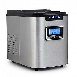 Klarstein ICE6 Icemeister, zariadenie na prípravu kociek ľadu, 12 kg/24 hod., nerezová oceľ, čierna