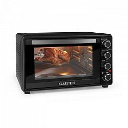 Klarstein Masterchef 45, mini rúra, 45 l, 2000 W, 100 – 230 °C, časovač, čierna