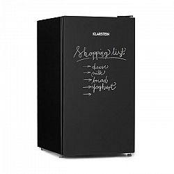 Klarstein Miro, chladnička, popísateľná predná strana, 91 l, A+, chladiaci priečinok na zeleninu, čierna
