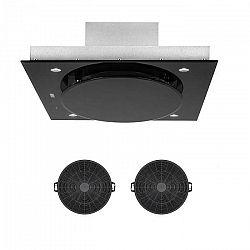 Klarstein Secret Service, vnútorná cirkulácia vzduchu, 110cm, 800m³/h, filter s aktívnym uhlím, čierna farba