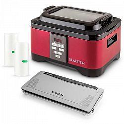 Klarstein Tastemaker Sous Vide + Foodlocker Slim + vákuovacia fólia, sada na vákuové varenie, elektrický hrniec/vákuovačka/fólia