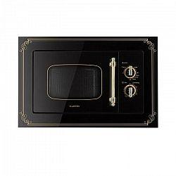 Klarstein Victoria 20, vstavaná mikrovlnná rúra, 20 l, 800 W, gril: 1000 W, čierna