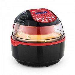 Klarstein VitAir Turbo Smart, teplovzdušná fritéza, 1400 W, 10 l, 20 programov, červená