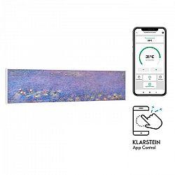 Klarstein Wonderwall Air Art Smart, infračervený ohrievač, 120 x 30 cm, 350 W, aplikácia, lekná