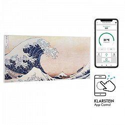 Klarstein Wonderwall Air Art Smart, infračervený ohrievač, 120 x 60 cm, 700 W, aplikácia, vlny