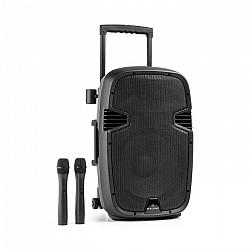 Malone Bushfunk 30, aktívny PA reproduktor, 700 W, bluetooth, akumulátor, USB, SD, MP3 VHF