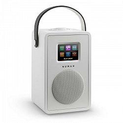 Numan Mini Two, biele, dizajnové internetové rádio, wifi, DLNA, bluetooth, DAB/DAB+, FM