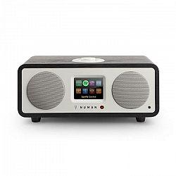 Numan One, 20W, čierny dub, 2.1 internetové rádio s DAB/DAB+, bluetooth, pripojenie k Spotify