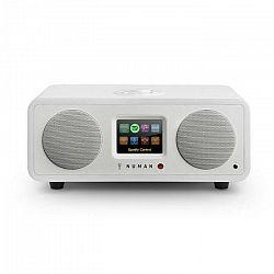 Numan One WH, 20W, biele, 2.1 internetové rádio s DAB/DAB+, bluetooth, pripojenie k Spotify