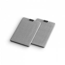 Numan Retrospective 1979 S, sivý, textilný kryt, 2 kusy, poťah na regálový reprodukto