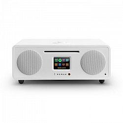Numan Two, biele, 2.1 internetové rádio, CD, 30 W, USB, bluetooth, Spotify Connect, DAB+