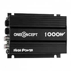 OneConcept 4-kanálový zosilňovač oneConcept X4-A4,600 W, čierny