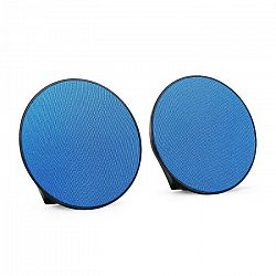 OneConcept Dynasphere, prenosné bluetooth reproduktory, AUX, modré