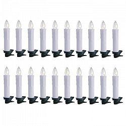 OneConcept Eternal Flame 20 LED vianočných svetielok, teplá biela, diaľkové ovládanie