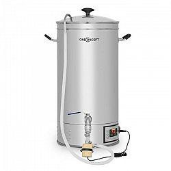 OneConcept Hopfengott 30, sladový kotol, 30 litrov, 30 - 140 °C, obehové čerpadlo, ušľachtilá oceľ