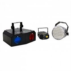 Osvetľovací set Ibiza Night 'n Light, LED moonflower efekt