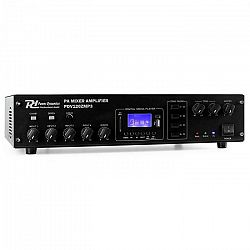 Power Dynamics PDV120ZMP3, 120 W, 4 zóny, MP3, 4-kanálový PA