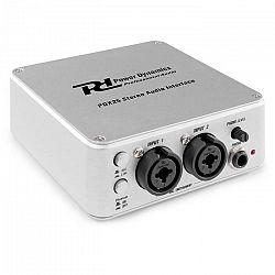 Power Dynamics PDX25, stereo-audio rozhranie, vrátane Audacity softvéru