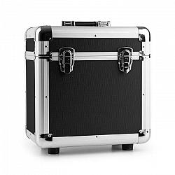 """Power Dynamics RC80, čierny, 12"""", hliníkový kufor na platne, puzdro na vinyly, 80 LP platní"""