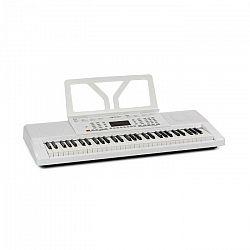 SCHUBERT Etude 61 MK II, keyboard, 61 kláves, 300 zvukov/rytmov, biely