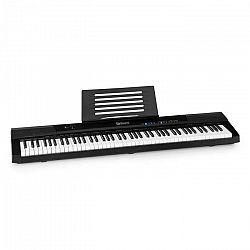 SCHUBERT Preludio, keyboard, 88 kláves, dynamika úderu, sustain pedál, čierny