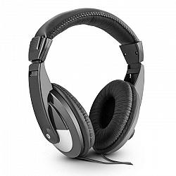 Skytec SH120, 105dB, čierna, DJ slúchadlá, umelá koža, 2m kábel, adaptér