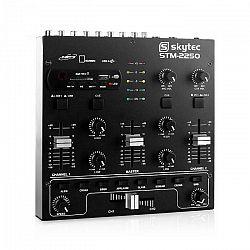 Skytec STM 2250, USB SD MP3 FX, 4-kanálový mixér