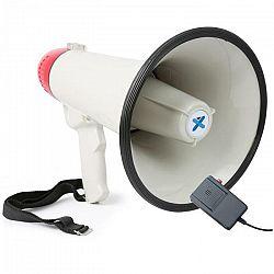 Vexus MEG040, megafón, 40 W, funkcia nahrávania, siréna, mikrofón, prevádzka na batérie, popruh